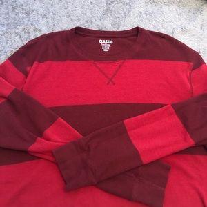 🌺 Mens Thermal Shirt Cropped